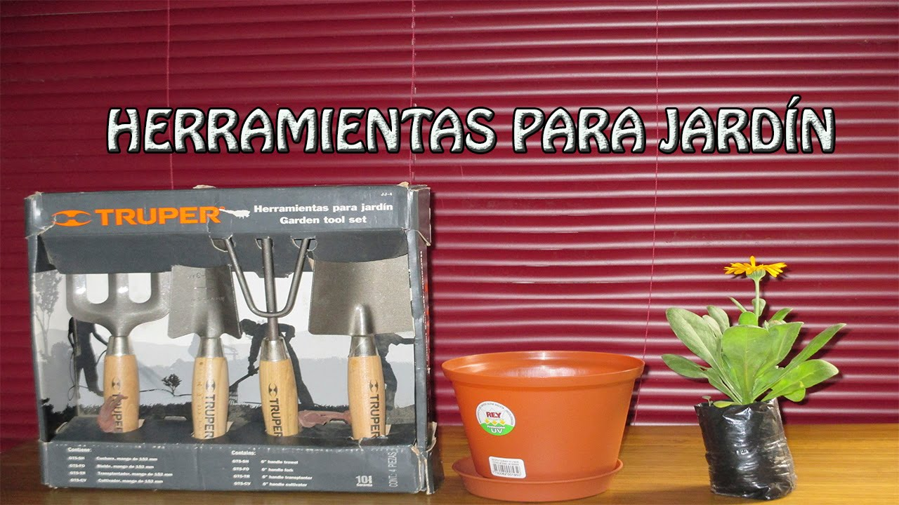 Herramientas de jardiner a herramientas para jardin youtube - Herramienta de jardineria ...