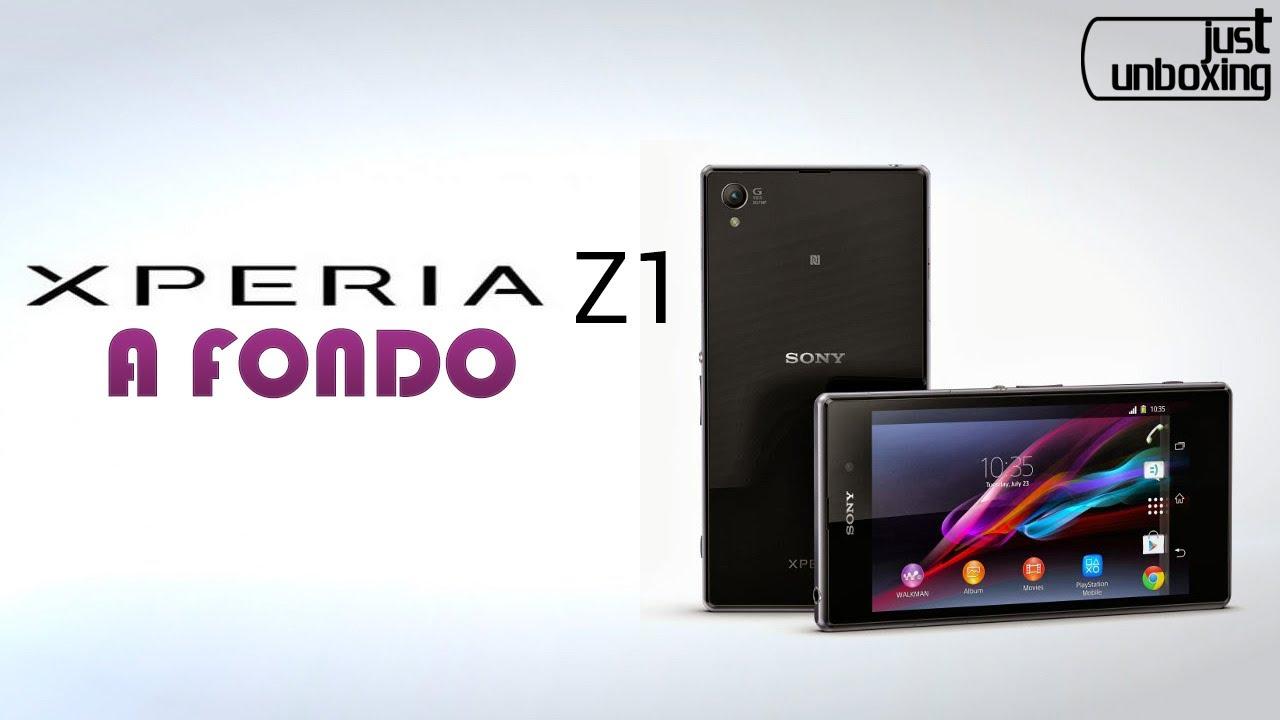 Sony Xperia Z1 - Análisis Completo