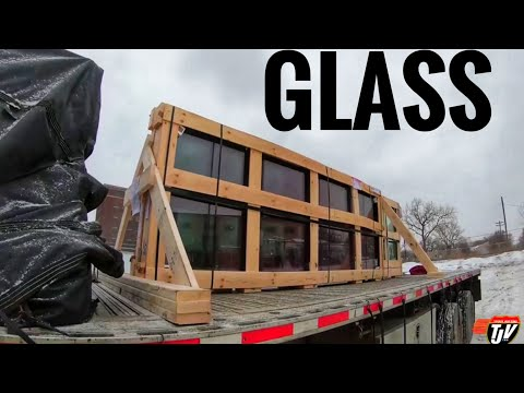 My Trucking Life - A LONG GLASS DAY - #1589