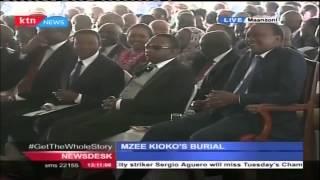Pastor steals show in the presence of President Uhuru Kenyatta