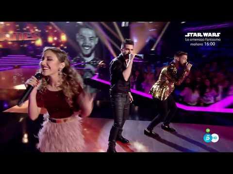 """Equipo Juanes: """"Nada valgo sin tu amor"""" – Semifinal - La Voz 2017"""