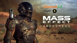 Mass Effect Andromeda - Doing side missions and leveling up grind - Live Stream PC 1080HD/60