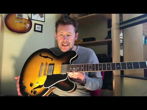 I swapped my PRS for a Gibson ES-335 !!
