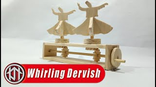 Whirling Dervish Wooden Automata - Diy Wooden Toys