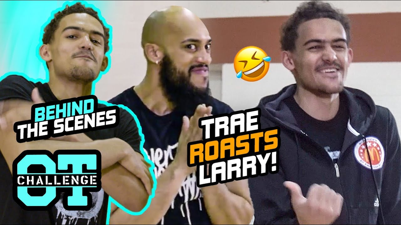 """""""Are You Nervous?"""" How Was Trae Young's Overtime Challenge ACTUALLY MADE!? Behind The Scenes 🔥"""