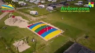 Ardoer camping Westhove vanuit de lucht