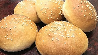 Бутербродные булочки из постного теста. Необычное тесто.
