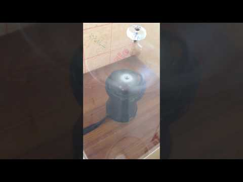 DIY centrifuge . Separation of material