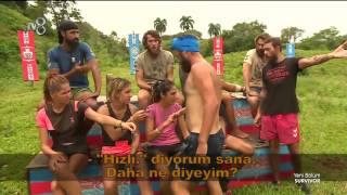 Yenilen Erdi'ye Gönüllüler'den tepki! |49. Bölüm | Survivor 2017