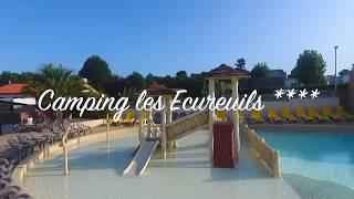 Camping Les Écureuils - Chadotel - Vue aérienne - La Bernerie n retz