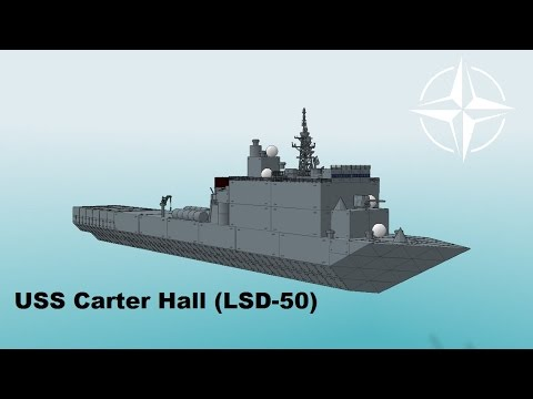 How to Make The: USS Carter Hall (Warship Craft)