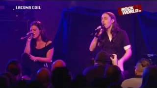 Lacuna Coil - Senzafine (Unplugged) With Lyrics - Acoustic