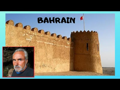 BAHRAIN: the beautiful, classic, Arabic and historic FORT of RIFFA