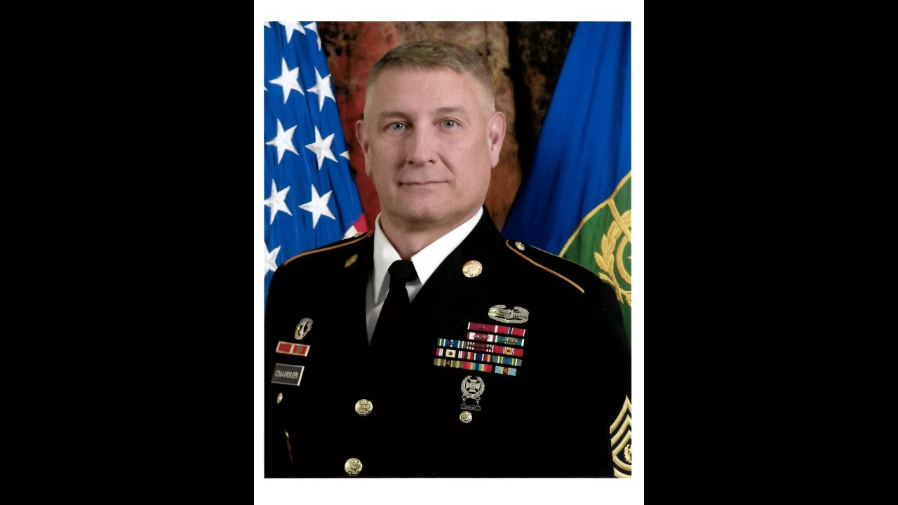 Command Sgt. Maj. Raymond F. Chandler III was the first enlisted commandant of the U.S. Army Sergeants Major Academy. This is a video interview with him about his time at USASMA.
