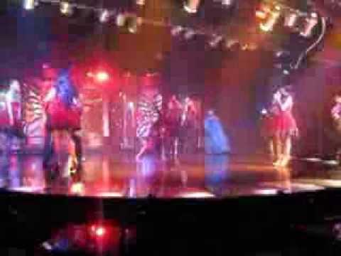 Cabaret på Asia Hotel i Bangkok