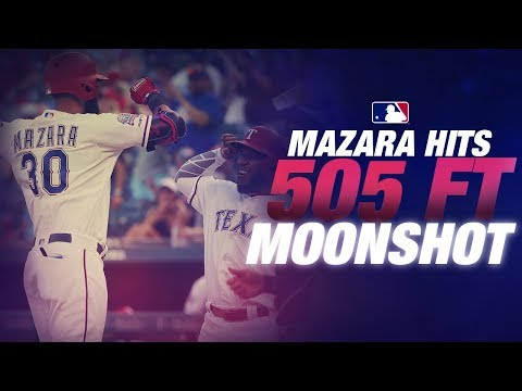 Jeff K - Nomar Mazara Smashes Longest Homer In MLB This Year At 505 Feet