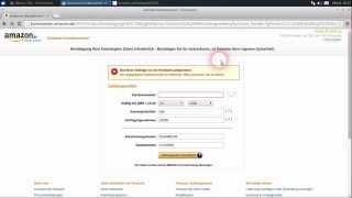 Aktuelle Amazon E-Mail Phishing Attacke