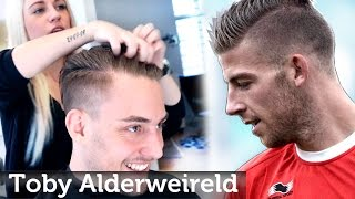 Toby Alderweireld Hairstyle - Undercut for Men - Professional Haircut