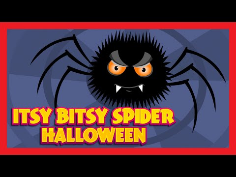 ITSY BITSY SPIDER NURSERY RHYME with Lyrics | Animation Cartoon Rhymes & Songs For Children