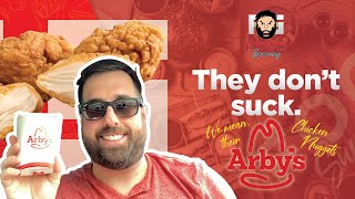 Arby's Chicken Nuggets Don't Suck  Plus Special Bonus Review