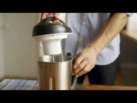 How to make home-made almond milk using the Milk Maker