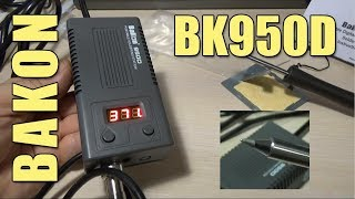 BAKON 950D Portable Digital Soldering Station with T13 Tip