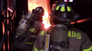 WPFD - First Live Burns On The Training Facility
