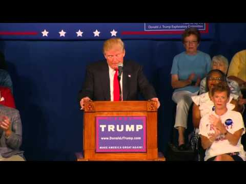 Donald Trump (August 17, 2015): Full Speech in South Carolina  Presidential Campaign Rally