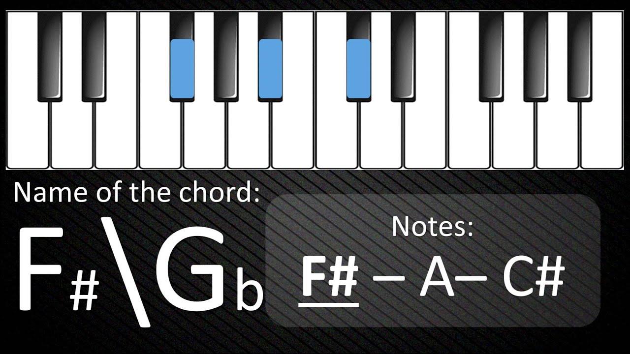 C major chords