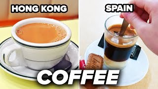 Drinking Coffee Around The World