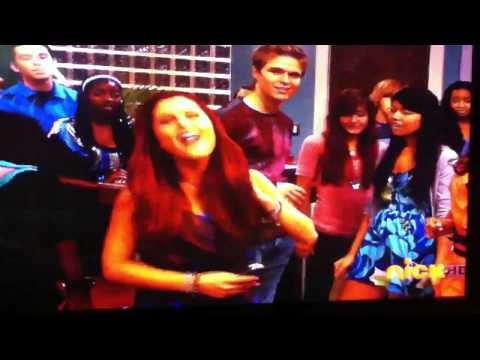 Iparty with victorious final song