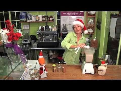 Charlie's Egg Nog - from Help Yourself Organic Cafe