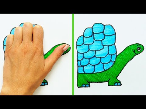 21 COOL DRAWING TRICKS