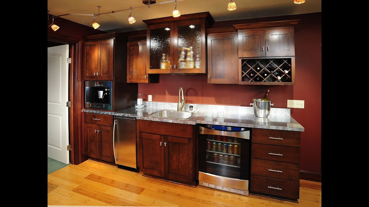 Upgrade To a Wet Bar In Your Rec Room | Home Wet Bar Design Ideas ...