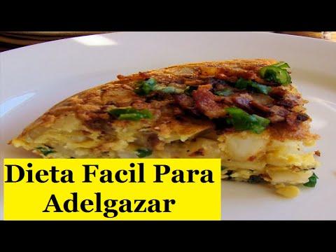 Dieta f cil para adelgazar desayuno almuerzo y cena - Que hacer de cenar rapido y facil ...