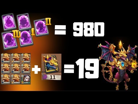 19 Zephyricas | 980 Hero Cards | And More | Castle Clash