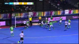 Ireland v Germany Match Highlights - UNIBET EuroHockey Championship