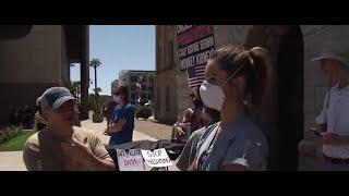 Arizona nurses launch counter-protest