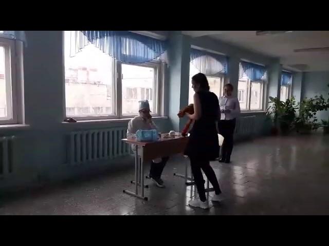 Изображение предпросмотра прочтения – «Ученицы 7-а класса МОУ СОШ №59 им.И.Ромазана» представляют видеоролик кпроизведению «Айболит» К.И.Чуковского