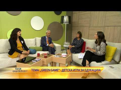 Green game - Aleksandra, Verica & holandskiot ambasador Vauter Plomp