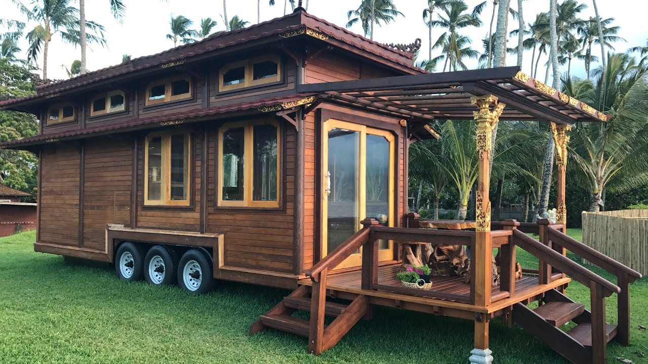 Tiny Temple Home On Wheels By Mandalaecohomes Youtube