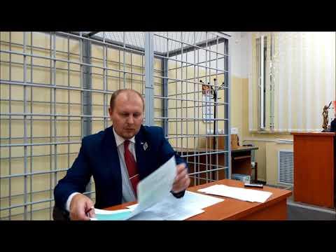 Суд над юристом Вадимом Видякиным по ч.  2 ст  17.  3 КоАП РФ
