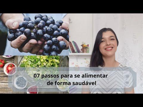 Vídeo: 07 passos para se alimentar de forma saudável + Sugestão de florais e livros