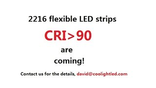 2216 cri 90 95 flexible led strip ribbon products are coming slow speed version