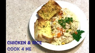 Chicken & Rice Tefal Cook4Me 12 minute, One Pot Meal, Cheekyrichio Cooking ep.1,211