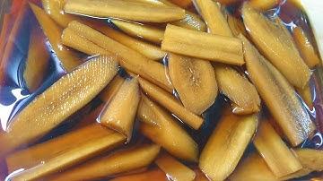 우엉장아찌 맛있게 담그는법!,우엉장아찌 맛있게 만들기!!ㅣ어디에나 어울리는 우엉장아찌