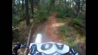 bit of motocross with my dad in georga and a ripper thru the woods durham town plantation oct 2012