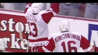 Detroit Red Wings Playoff Overtime Goals (1992-2013)