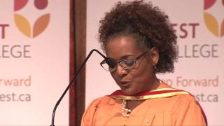 Michaëlle Jean Honourary Diploma Speech