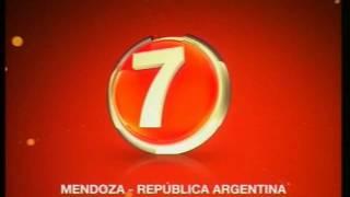 ID LV 89 TV Canal 7 Mendoza - Argentina y repetidoras